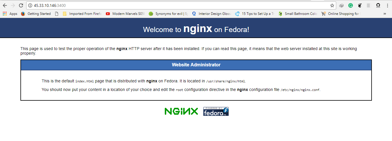 How to change default Nginx port in Linux - Tutorials and