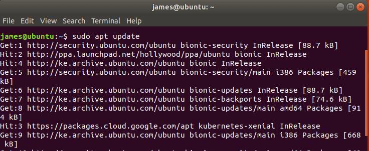 update Ubuntu system