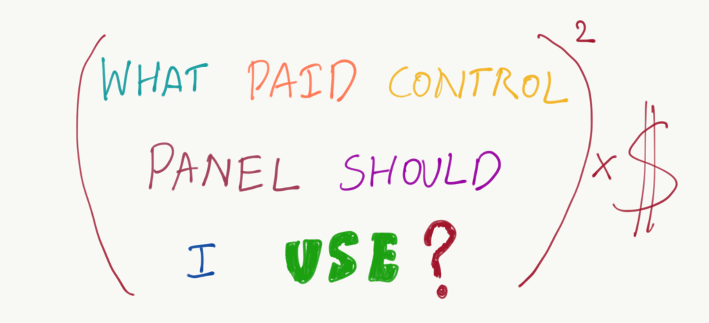 Cloudcone Control Panel